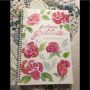 "Beautiful Hard Cover ""Gratitude Journal"""